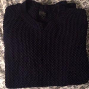 J. Crew heavy knit sweater (L)